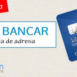 Cont bancar FARA DOVADA DE ADRESA