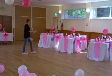 Decoratiuni Sala botezuri, nunti si petreceri