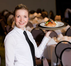Part-time breakfast waitress Central London
