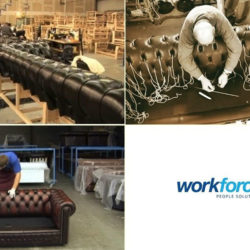 Tapiteri in fabrici UK - Workforce People Solutions