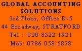 Global Accounting Solutions - Tax Return Stratford