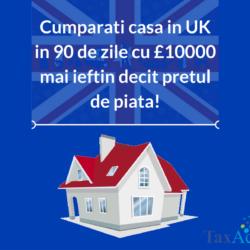 Cumparati casa in UK in 90 de zile cu £10000 mai ieftin decit pretul de piata!