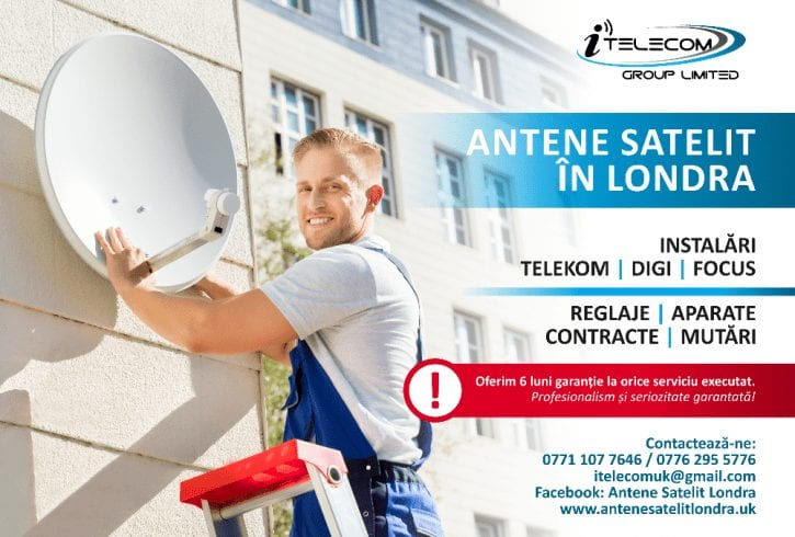 Antene Satelit Londra - Suna ACUM !!