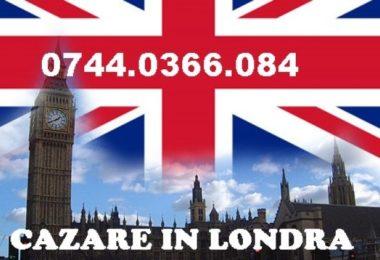 Cazare in Londra - Loc in camera baieti si fete