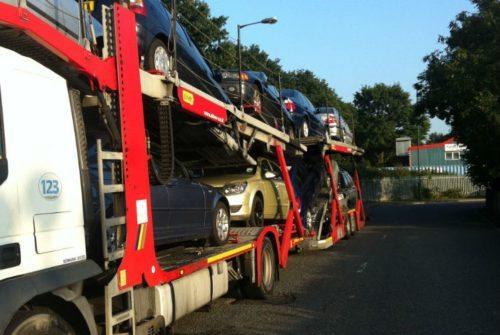 Transport auto Anglia-Romania