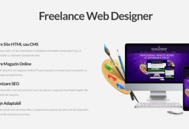 Web Designer Independent - Constructii Site-uri si Magazine Online