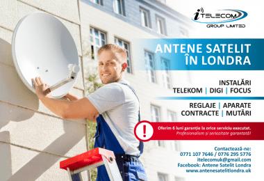 ANTENE SATELIT LONDRA - Instalam Antene Satelit in toate zonele Londrei si UK - Venim ASTAZI !!!