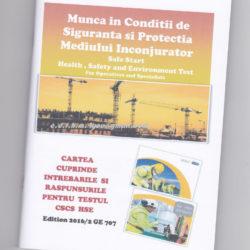 Vand carti CSCS - HSE in limba romana, editia 2016