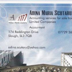 Adina Scutaru - Contabilitate Self-Employed si Ltd