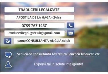 Iulia Florea - Traduceri Legalizate ORIUNDE in UK
