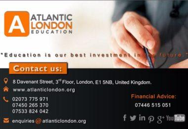 Atlantic London - Cursuri intensive de limba engleza