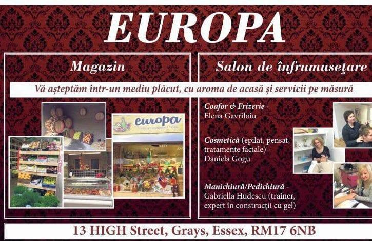 Magazin romanesc Europa Grays