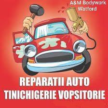Reparatii auto A&M Bodywork Watford Londra