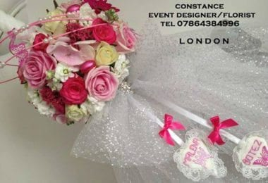 Lumanari botez Londra - CONSTANCE VINTILA