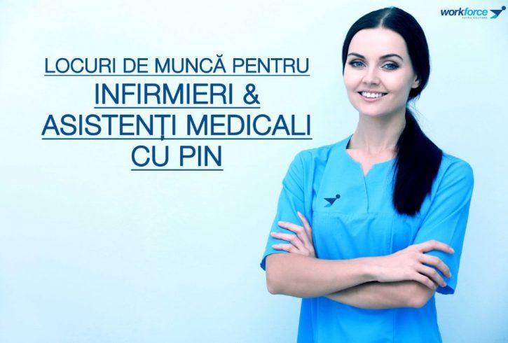 Locuri de munca pentru Infirmieri si Asistenti Medicali cu PIN