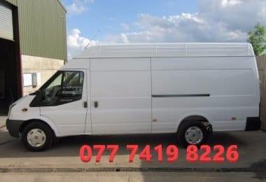 Servicii de transport cu van mutari si transport marfa Londra + UK
