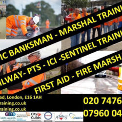 TRAFFIC MARSHALL | FIRST AID | PTS | LUCAS ICI | TRACK INDUCTION