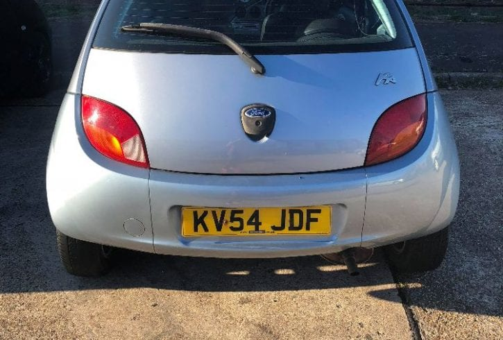 Vand Ford KA interior piele an 2004 - in Slough SL1