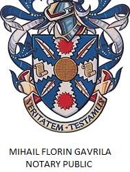 Notar Roman - Mihail Florin Gavrila