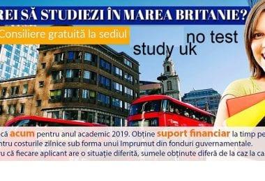 Brexit-ul este aproape - este ultima șansă să devii student UK