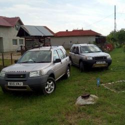 Caut transport pentru 9 masini Ross on Wye - Dragasani