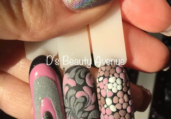 Alungire unghii - Nail Art
