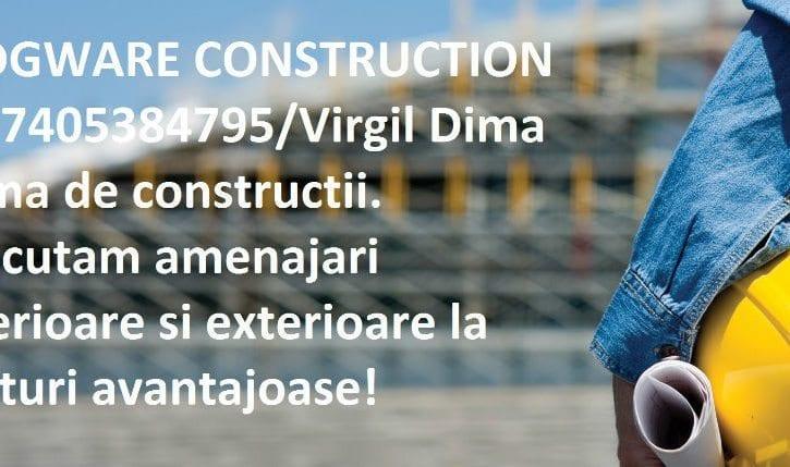 COMPANIE DE CONSTRUCTII EXECUTAM LUCRARI LA PRETURI REZONABILE
