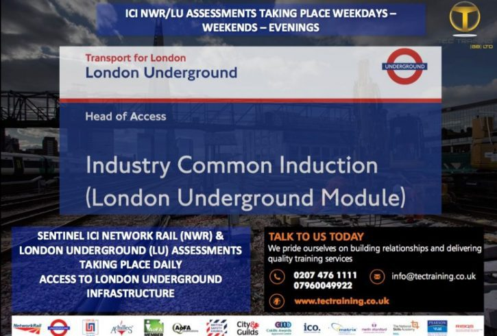 Calificari si Carduri - Constructii si Feroviar - Tec Training Londra
