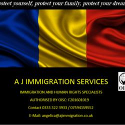 A J Immigration Services - Asistenta Consultanta si Reprezentare juridica