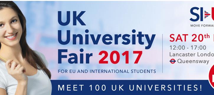 Cel mai mare targ de universitati din UK