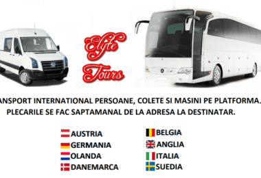 Elyte Tours - Transport persoane si colete