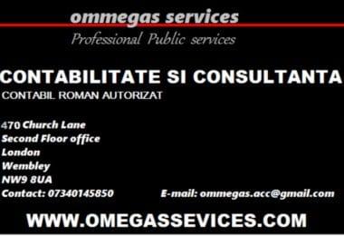 Ommegas Services - Contabilitate si Rezidenta Permanenta in UK