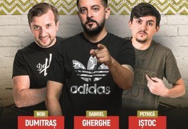 Stand-up Comedy - Bobi Dumitras, Gabriel Gherghe si Petrica Istoc