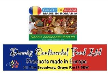 Dennis Continental Food - Magazin Romanesc deschis in Grays Little Thrurock