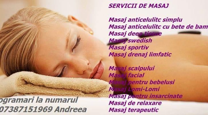 Andreea - Masaj, epilari cu ceara, tratamente faciale - Londra HA1