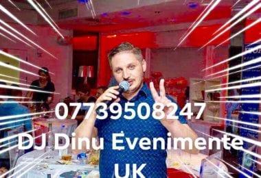 Alege experienta! Alege DJ Dinu - Dj/Mc pentru petrecerea ta!