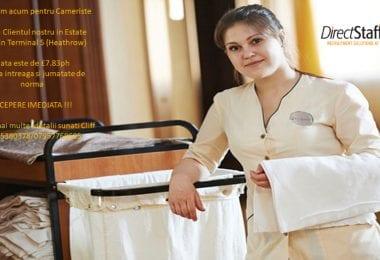 Personal pentru Hotel / Cameriste in Hounslow