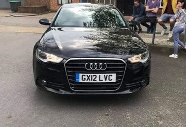 Vand Audi A6 2012 Manual 74000 mile in Maidstone UK