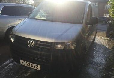 Van Volkswagen Transporter din 2013 68K Mile in Londra