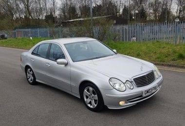 Se vinde masina in zona Liverpool - Mercedes E320 CDI an 2003 120K Mile - St Helens L34