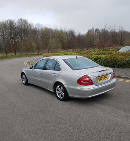 Liverpool - Mercedes E320 CDI an 2003 120K Mile - St Helens