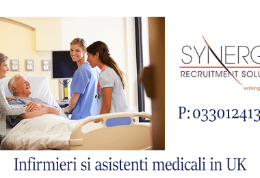 Synergy Recruitment is hiring Health Care Assistant!